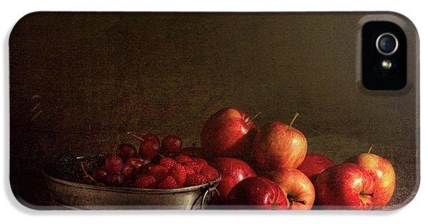 Feast Of Fruits IPhone 5 / 5s Case by Tom Mc Nemar