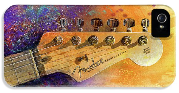 Fender Head IPhone 5 / 5s Case by Andrew King