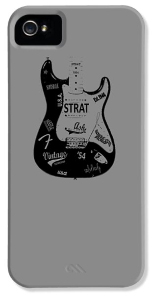Fender Stratocaster 54 IPhone 5 / 5s Case by Mark Rogan