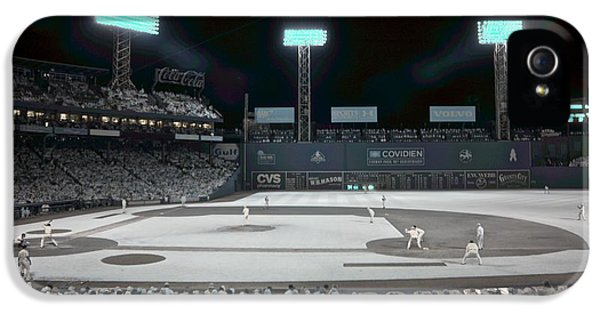 Ballpark iPhone 5 Cases - Fenway Infrared iPhone 5 Case by James Walsh