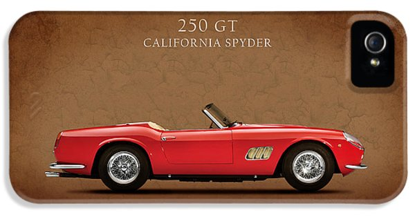 Ferrari iPhone 5 Cases - Ferrari 250 GT 1960 iPhone 5 Case by Mark Rogan