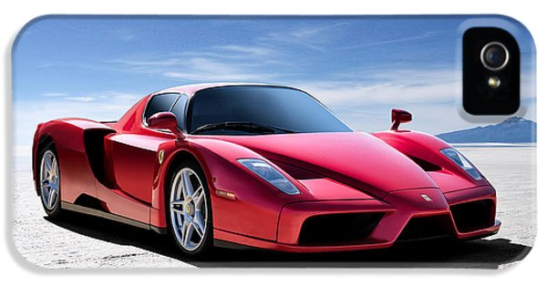 Performance iPhone 5 Cases - Ferrari Enzo iPhone 5 Case by Douglas Pittman