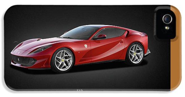 Ferrari iPhone 5 Cases - Ferrari F12 iPhone 5 Case by Mark Rogan
