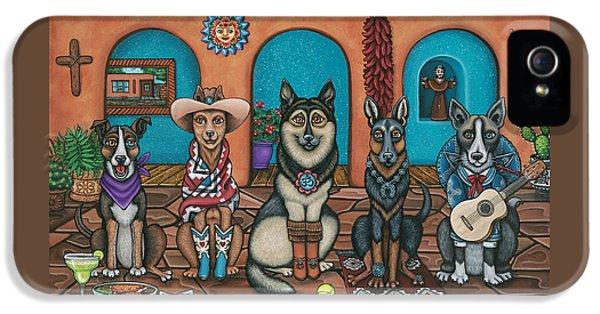 Fiesta Dogs IPhone 5 / 5s Case by Victoria De Almeida