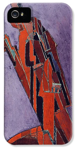 Figure Study Design For Sculpture IPhone 5 / 5s Case by Lawrence Atkinson