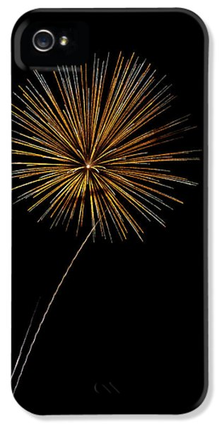 Fire Works iPhone 5 Cases - Fire Works bursts iPhone 5 Case by Gary Langley