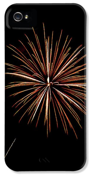Fire Works iPhone 5 Cases - Fire Works iPhone 5 Case by Gary Langley