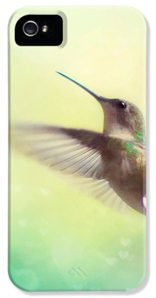 Flight Of Fancy - Square Version IPhone 5 / 5s Case by Amy Tyler