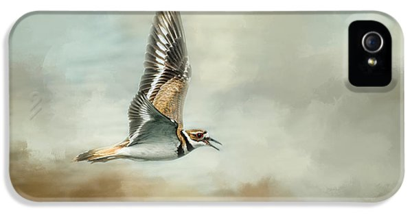Flight Of The Killdeer IPhone 5 / 5s Case by Jai Johnson