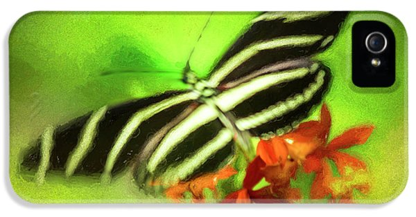 Floral Butterfly IPhone 5 / 5s Case by Marvin Spates