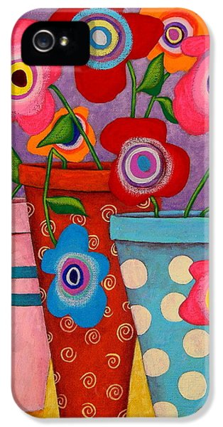 Floral Happiness IPhone 5 / 5s Case by John Blake