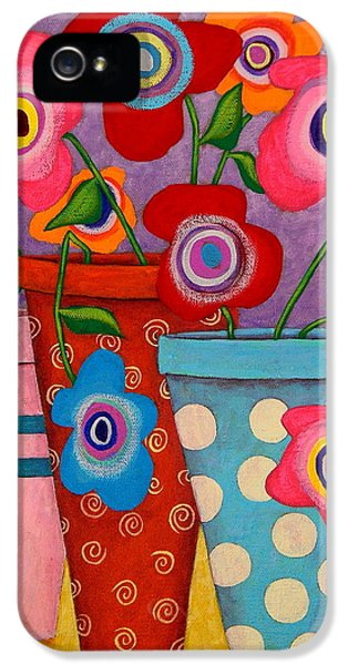 Mexican iPhone 5 Cases - Floral Happiness iPhone 5 Case by John Blake
