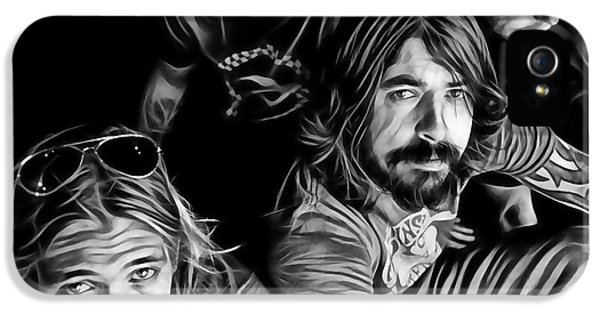 Dave Grohl iPhone 5 Cases - Foo Fighters Collection iPhone 5 Case by Marvin Blaine