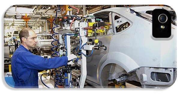 Automation iPhone 5 Cases - Ford Car Assembly Line iPhone 5 Case by Ria Novosti