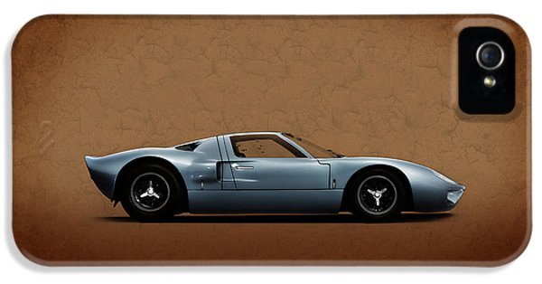 Ford Classic Car iPhone 5 Cases - Ford GT40 iPhone 5 Case by Mark Rogan