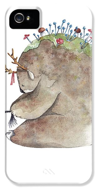 Forest Spirit IPhone 5 / 5s Case by Soosh