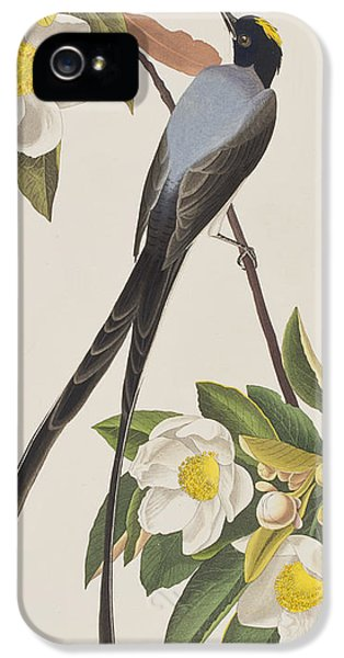 Fork-tailed Flycatcher  IPhone 5 / 5s Case by John James Audubon