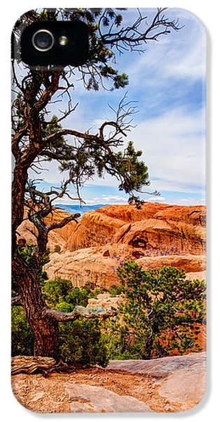 Framed iPhone 5 Cases - Framed Arch iPhone 5 Case by Chad Dutson
