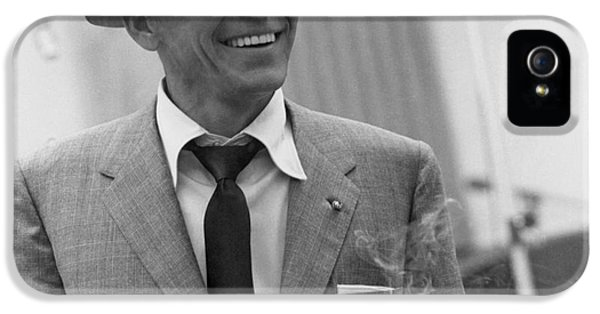 Frank Sinatra - Capitol Records Recording Studio #3 IPhone 5 / 5s Case by The Titanic Project