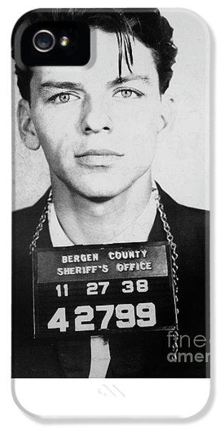 Frank Sinatra Mugshot IPhone 5 / 5s Case by Jon Neidert