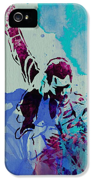 Freddie Mercury IPhone 5 / 5s Case by Naxart Studio