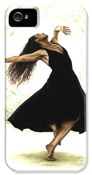 Dance iPhone 5 Cases - Free Spirit iPhone 5 Case by Richard Young