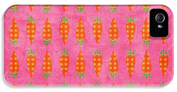 Carrot iPhone 5 Cases - Fresh Carrots iPhone 5 Case by Linda Woods