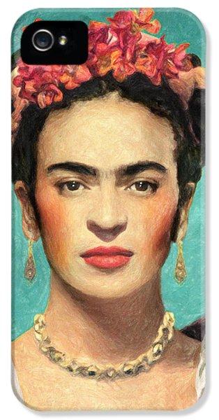 Frida Kahlo IPhone 5 / 5s Case by Taylan Soyturk