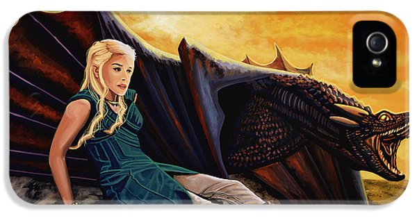 Game Of Thrones Painting IPhone 5 / 5s Case by Paul Meijering