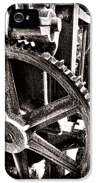 Steel iPhone 5 Cases - Gearology  iPhone 5 Case by Olivier Le Queinec
