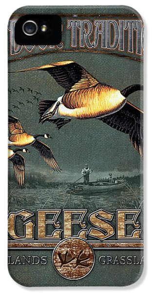 Geese Traditions IPhone 5 / 5s Case by JQ Licensing