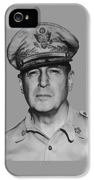 Honor iPhone 5 Cases - General Douglas MacArthur iPhone 5 Case by War Is Hell Store