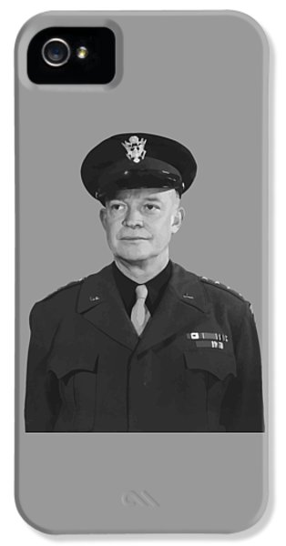 Memorial Day iPhone 5 Cases - General Dwight D. Eisenhower iPhone 5 Case by War Is Hell Store