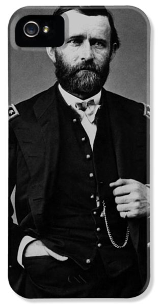General Grant During The Civil War IPhone 5 / 5s Case by War Is Hell Store