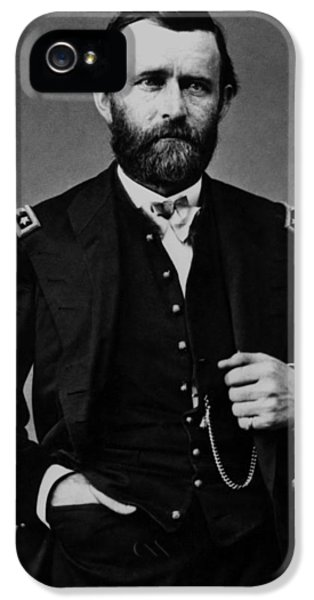 President iPhone 5 Cases - General Grant During The Civil War iPhone 5 Case by War Is Hell Store