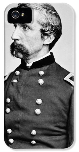 Round iPhone 5 Cases - General Joshua Chamberlain  iPhone 5 Case by War Is Hell Store