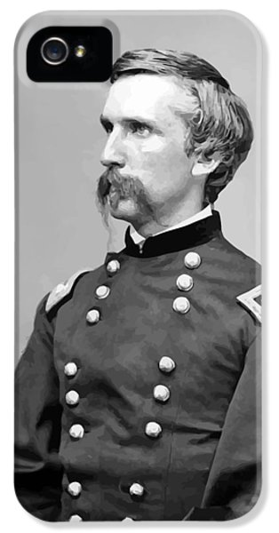 Round iPhone 5 Cases - General Joshua Lawrence Chamberlain iPhone 5 Case by War Is Hell Store