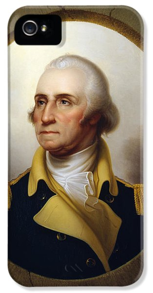 Continental iPhone 5 Cases - General Washington iPhone 5 Case by War Is Hell Store