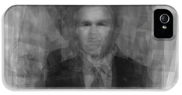 George W. Bush IPhone 5 / 5s Case by Steve Socha