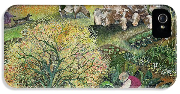 George's Allotment IPhone 5 / 5s Case by Lisa Graa Jensen
