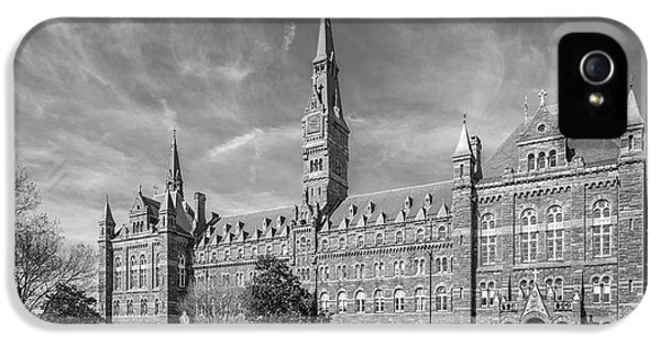 Georgetown University Healy Hall IPhone 5 / 5s Case by University Icons
