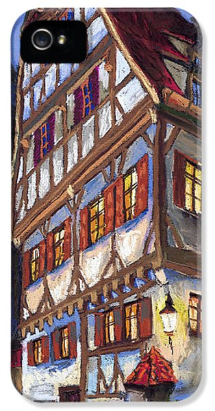 Pastel iPhone 5 Cases - Germany Ulm Old Street iPhone 5 Case by Yuriy  Shevchuk