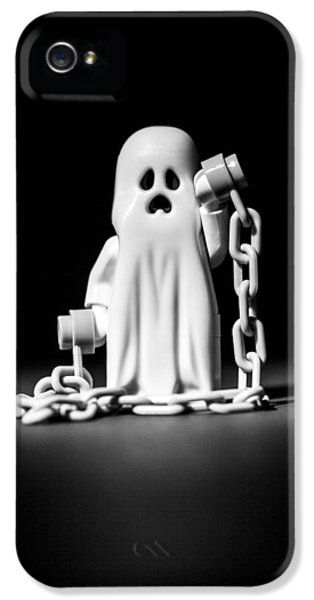 Ghost iPhone 5 Cases - Ghostly iPhone 5 Case by Samuel Whitton