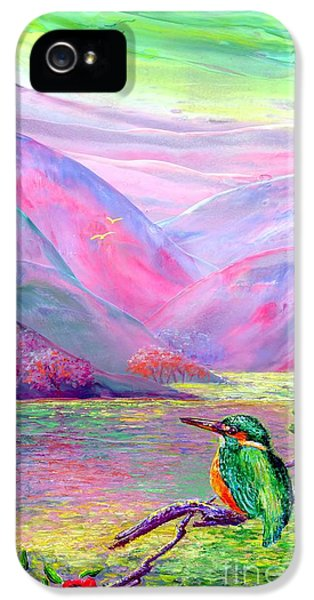 Fishing iPhone 5 Cases - Shimmering Streams iPhone 5 Case by Jane Small