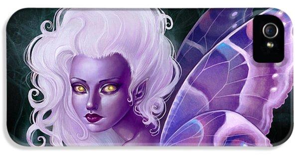 Fairies iPhone 5 Cases - Glow in the Dark iPhone 5 Case by Caroline Jamhour