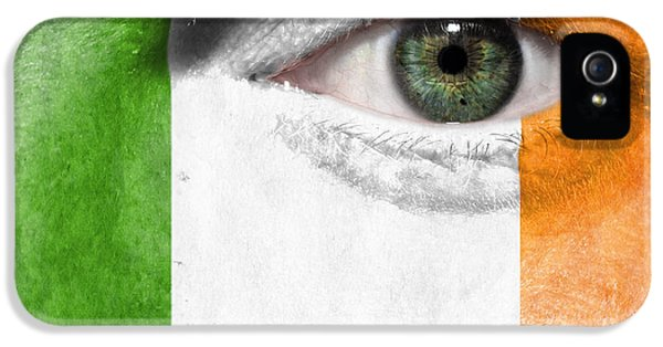 Face iPhone 5 Cases - Go Ireland iPhone 5 Case by Semmick Photo