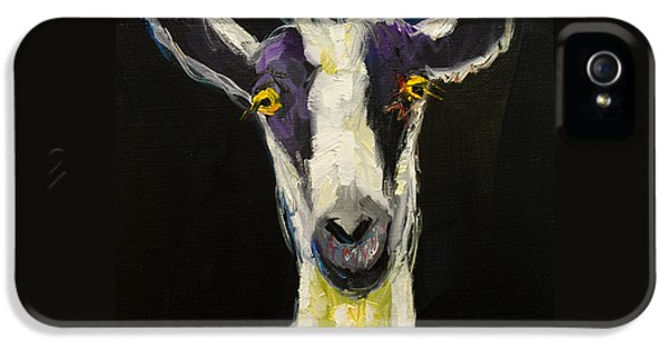 Goat Gloat IPhone 5 / 5s Case by Diane Whitehead