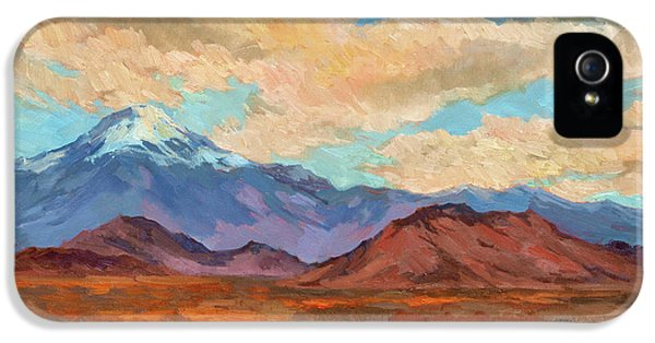 God's Creation Mt. San Gorgonio  IPhone 5 / 5s Case by Diane McClary