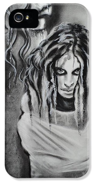 Insanity iPhone 5 Cases - Gone for a while iPhone 5 Case by Carla Carson