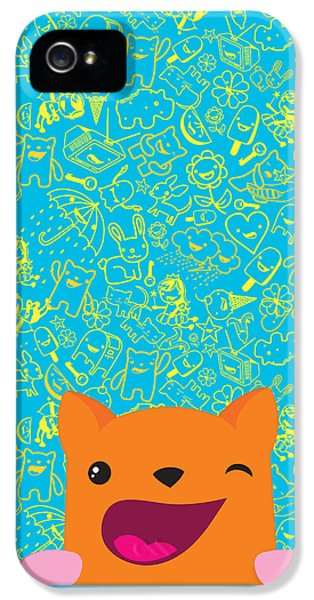 Children iPhone 5 Cases - Good luck iPhone 5 Case by Seedys